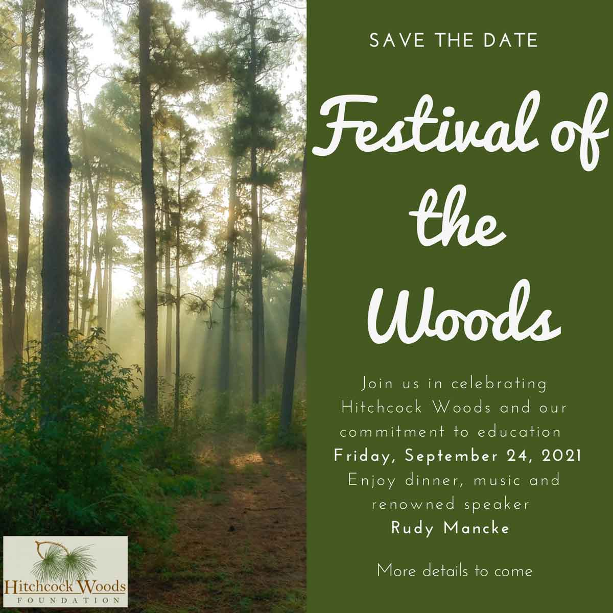 Save the Date - Festival of the Woods