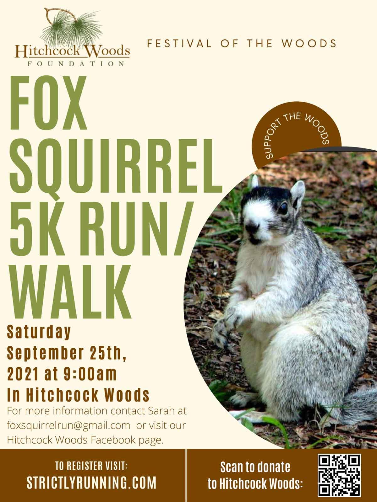 Fox Squirrel 5k Run/Walk